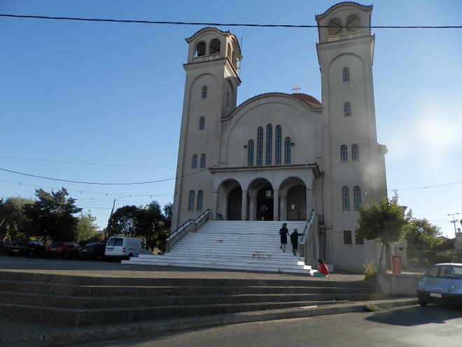 Ο Ι. Ναός Αγίας Βαρβάρας