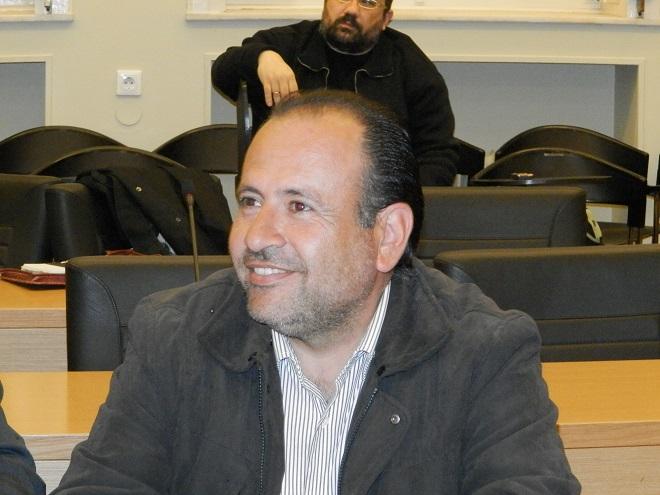 Ο νεοεκλεγείς γραμματέας του Δημοτικού Συμβουλίου κ. Γιώργος Αλεξόπουλος