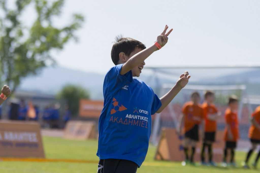 Παιχνίδια Ποδοσφαιρικών Δραστηριοτήτων με τα παιδιά των Αθλητικών Ακαδημιών ΟΠΑΠ 2