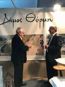 με τον κ. Μπένο πρόεδρο του Σωματείου ΔΙΑΖΩΜΑ